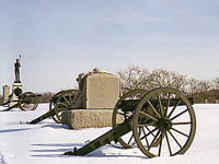 Winter in Gettysburg © National Park Service