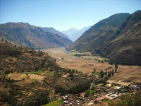 The Sacred Valley, Peru © Charles Gadbois