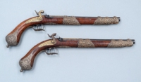 Antique Guns on display at the Weaponry Museum © Qatar Museum Authority