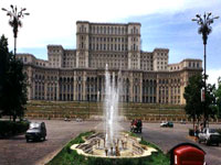 Parliament of Palace building, Bucharest ©