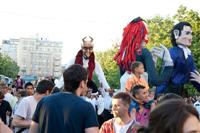 Street festivities, Bucharest ©