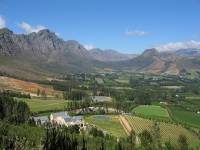 Franschhoek Valley, South Africa © Da Legend