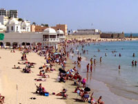 La Playa de la Caleta, Cadiz