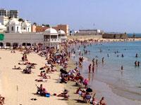La Playa de la Caleta, Cadiz