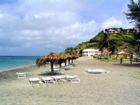 South Frigate Bay beach, St Kitts ©