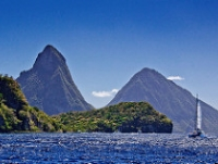 The Pitons © cjuneau