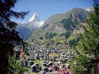 Zermatt village © Swiss Tourist Board