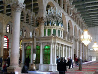 Umayyad Mosque interior ©
