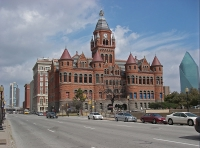 Tours of buildings in Dallas © Leaflet