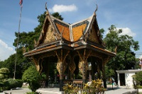 Pagoda at Bangkok National Museum © Laughlin Elkind