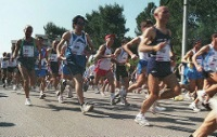 Marathon Runners © Luigi Scorcia