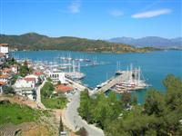 Fethiye\'s charming harbour