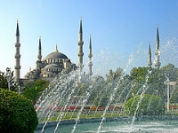 Blue Mosque  © Dennis Jarvis