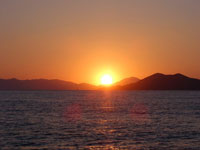 Sunset in Calis