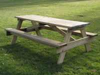 Picnic Table © Benjamin Esham
