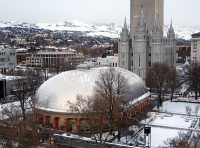 Tabernacle on Temple Square © Leon7