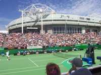 Margaret Court Arena at the Australian Open © Russell Degnan