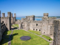 Caernarfon Castle © James Petts