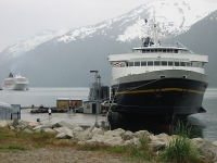 Alaskan Ferry © Jarfingle