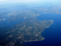Aerial view of Bainbridge Island © Dcoetzee