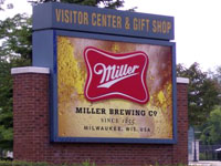 Miller Brewery © Greater Milwaukee Convention & Visitors Bureau