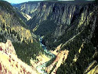 Grand Canyon of Yellowstone National Park © NPS