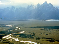 Snake River and the Tetons © NPS