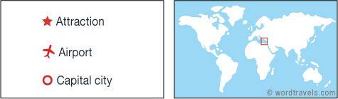 Cyprus map.