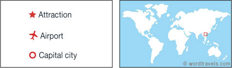 Laos map.