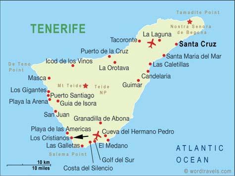 Los Cristianos El Complejo Puerto De Espana