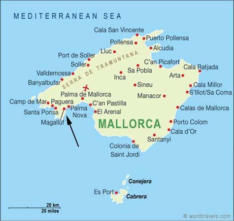 kart over fuerteventura