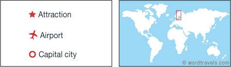 Sweden map.