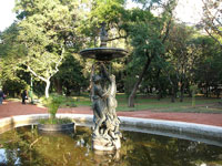 Fountain in Botanical Gardens