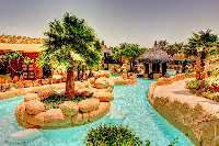 Bahrain water park HDR