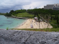 Fort St Catherine beach