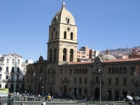 San Francisco Cathedral, La Paz