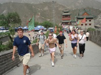 Runners on the Great Wall