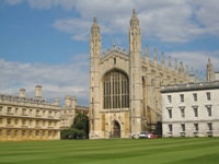 The Kings College Chapel in Cambridge