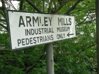 Armley Mills Industrial Museum sign