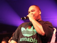 Cannabis performing at the Brighton Festival