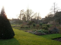 The Botanic Gardens in Oxford