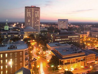 Downtown Tallahassee skyline