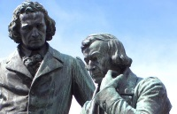 Grimm Brothers Monument