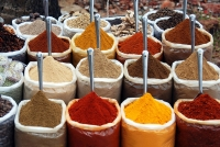 Spices at the Anjuna Flea Market