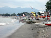 Fishing boats in Ampenan