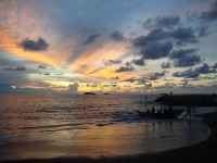 Padang Beach Sunset