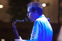 Ian Ritchie at the Malta Jazz Festival