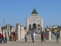 The site of Hassan Tower, Rabat