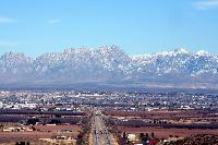 The town of Las Cruces.