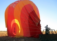 Deflating an Outback Balloon